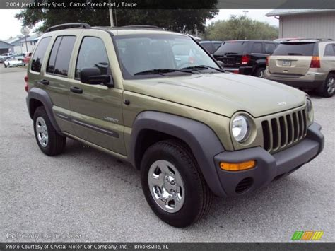 green jeep liberty 2004 jeep liberty sport in cactus green pearl photo no