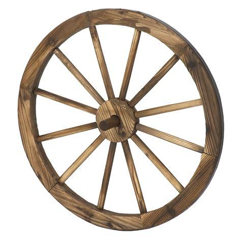 Decorative Wagon Wheels by Astonica 50308202 24 Inch Decorative Fashioned Wooden Wagon Wheel Ebay