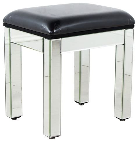 mirrored dressing table stool modern dressing