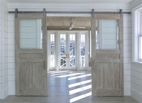 interior barn doors with glass best 25 glass barn doors ideas on interior