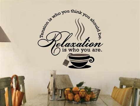 coffee wall stickers tea coffee stickers vinyl wall decal words kitchen ebay