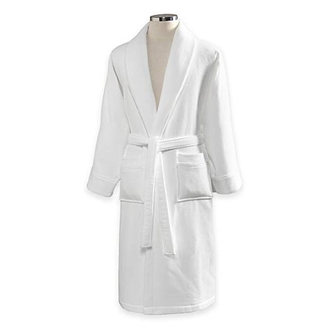 bathrobe bed bath and beyond linum home textiles waffle terry turkish cotton unisex