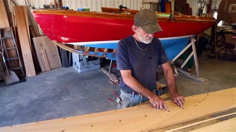 wooden boat repair videos part 8 herreshoff 12 1 2 wooden boat repair how to