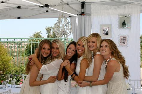 All White Bridal Shower, by The Yes Girls Events   The Yes
