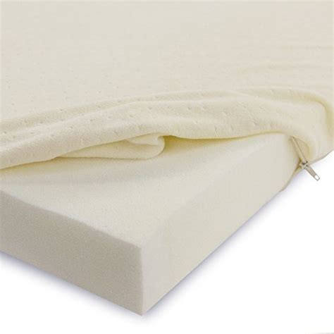 twin bed topper o0o classic brands 2 inch memory foam mattress pad