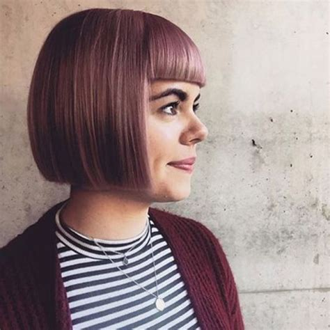 One Length Hairstyles by 25 Best Ideas About One Length Bobs On Medium