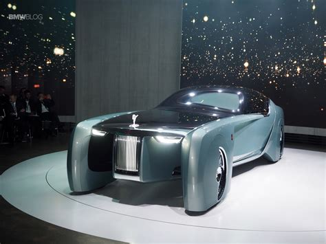 Rolls Royce Vision 100 Live Photos From