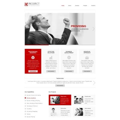 free responsive website templates for advertising agency free responsive javascript animated template