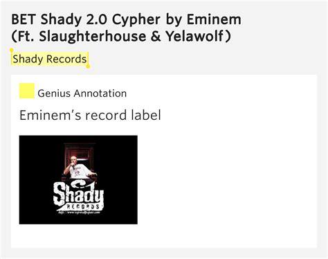 eminem cypher lyrics shady records bet shady 2 0 cypher by eminem