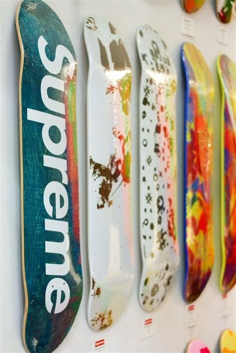 supreme skateboards the 25 best supreme skateboard deck ideas on