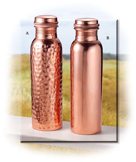 100 Copper Bottle by 100 Copper Water Bottle S For