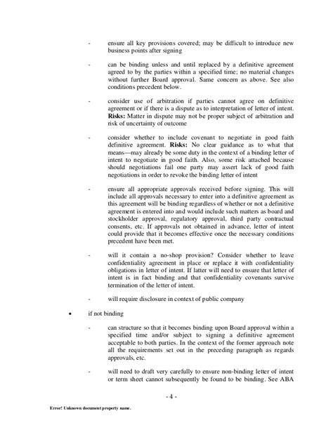 Letter Of Agreement Model letter of intent to execute a joint venture agreement