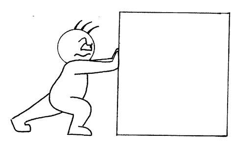 cartoon push clipart
