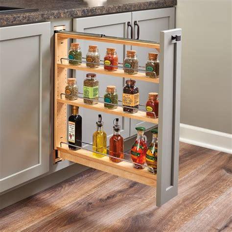 Rev A Shelf 438 Base Organizer for 3 inch Base Cabinet