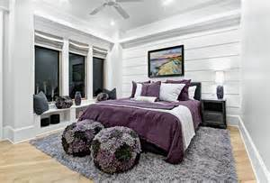 Gray And Purple Bedroom Ideas Purple And Gray S Room Contemporary S Room Chic Design