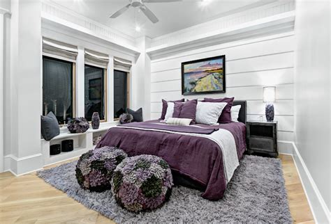 lavender and gray bedroom purple and gray girl s room contemporary girl s room