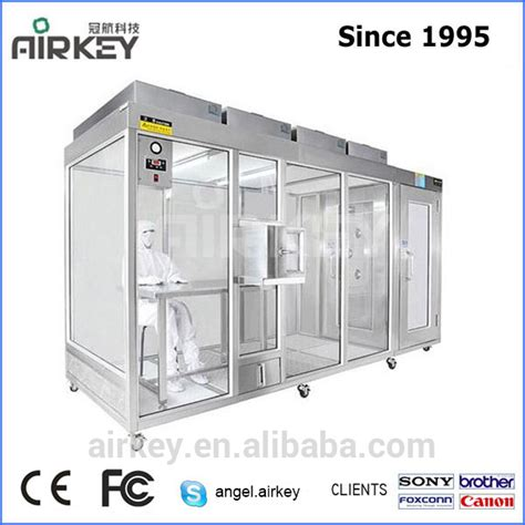 class 100 clean room design dust free class 100 clean booth led clean room with air shower buy portable clean room