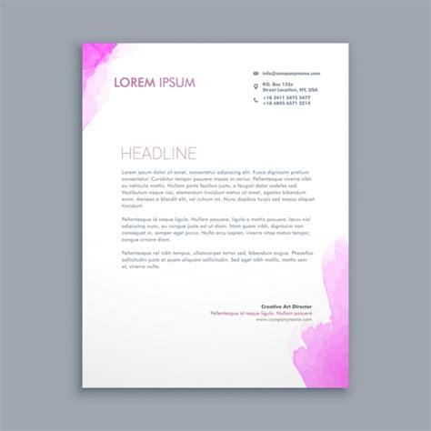 Corporate Design Vorlagen Kostenlos Sauber Corporate Briefpapier Design Der Kostenlosen Vektor