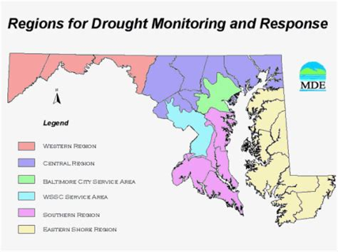 maryland drought map drought information and indicators