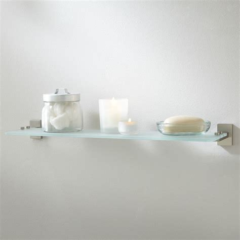 Bathroom Glass Shelf Supports 17 Best Images About Bathroom Glass Shelf On