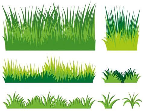 gras pattern ai verschillende kljes van gras vector gratis download
