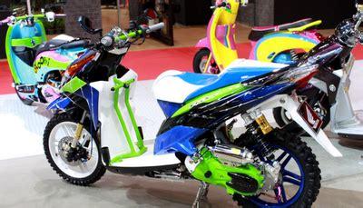 Rok Orange Murah Bekas modifikasi vario techno 2011 autos post
