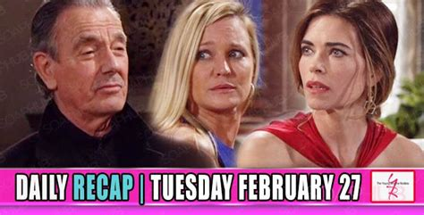 yr recap one night the young and the restless recaps the young and the restless yr recap twisted schemes and