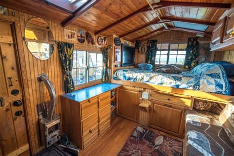 Building An Off Grid Bathroom it looked like a normal old truck until i saw the blue