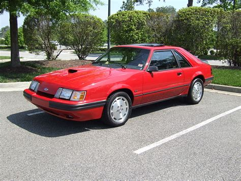 curbside classic 1985 ford mustang svo a turbocharged
