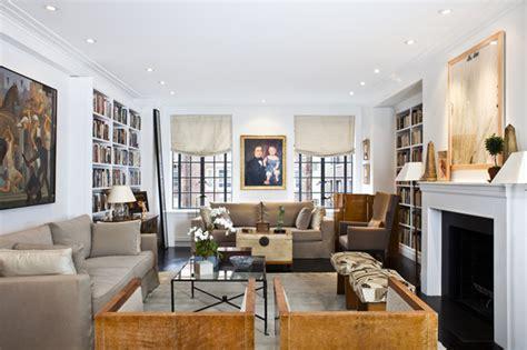 living room nyc upper west side pre war coop luxury