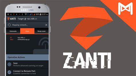 zanti android افضل 10 تطبيقات اختراق الواي فاي للاندرويد 2017 كسر كلمة سر الـ wifi بعدة طرق مجنون كمبيوتر
