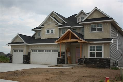 house on tufton the build exterior stone siding and driveway oh my