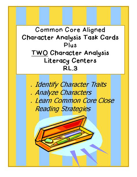 common tasks in gimp 2 8 books simply centers common character analysis task cards