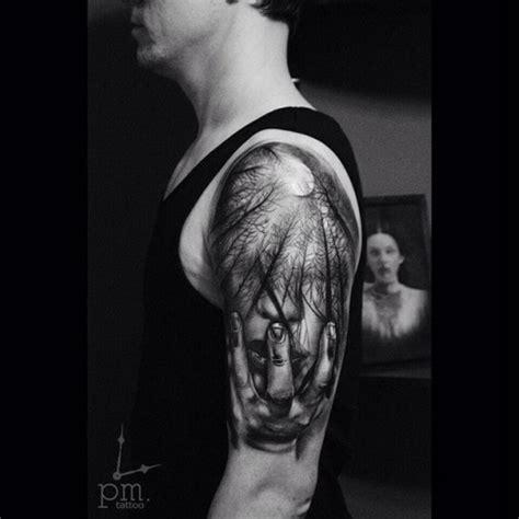 dark forest tattoo about forest best ideas gallery
