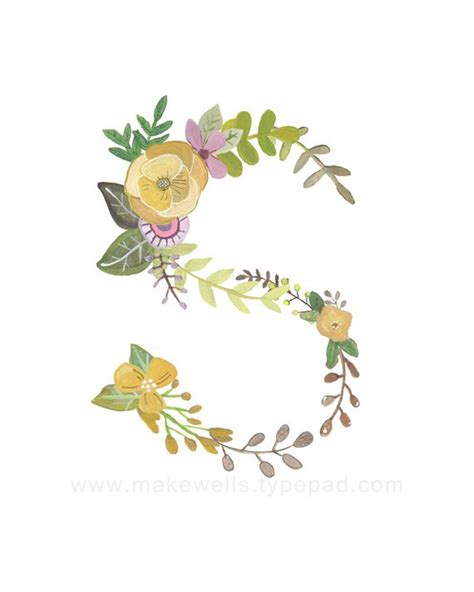 fiore con la s s floral print
