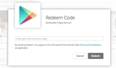 Play Store Redeem How To Redeem A Play Store Promo Code Greenbot