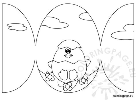 coloring pages for easter cards easter card with egg coloring page