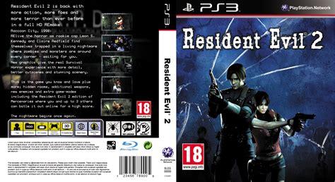 Ps3 Resident Evil 7 resident evil 2 remake playstation 3 boxart cover by trivialjohn on deviantart
