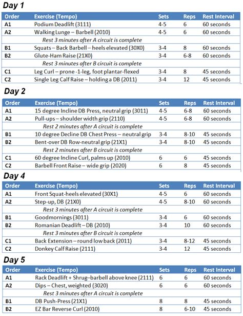 home workout for search results calendar 2015