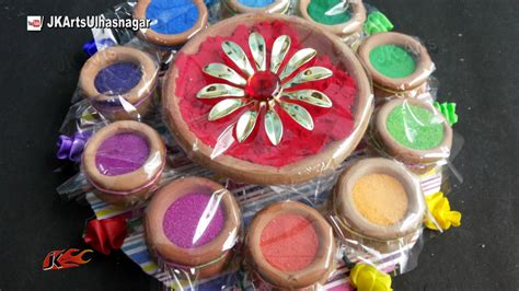 Holi Decoration Ideas For Office by Holi Festival Color Platter How To Make Holi Gift Ideas