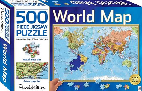 Puzzle Solar World Map world map 500 jigsaw puzzle puzzles toys
