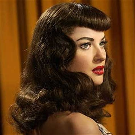 retro hairstyle for long hair vintage hairstyle for long hair sang maestro