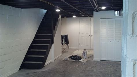 spray painting walls and ceilings pin by finley on basement