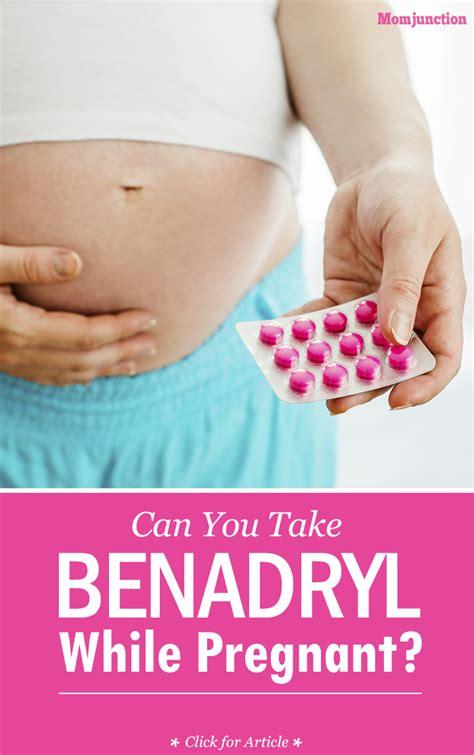 can you take benadryl while