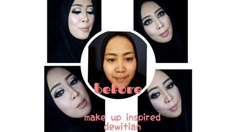 tutorial makeup ala mua tutorial make up inspired ala mua hits by dewitian pake