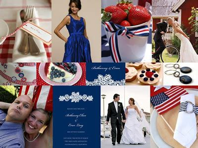 pizzazz fourth of july wedding inspiration