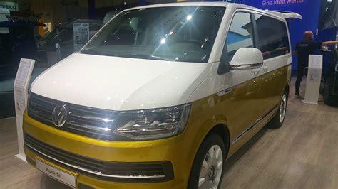 Volkswagen Caravan by Vw At Caravan Salon 2017