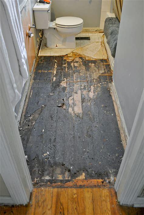 Diy Bathroom Flooring Ideas by Diy Budget Bathroom Renovation Reveal Interior Design