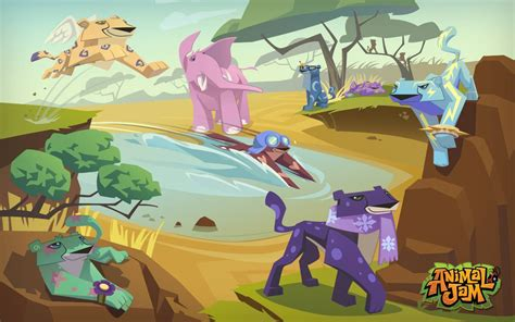 animal jam animal jam wallpapers