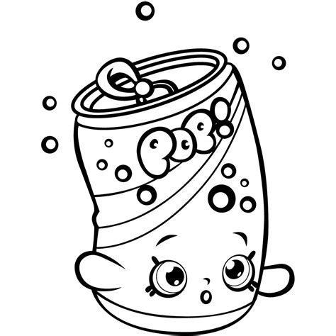 Shopkins Coloring Pages Best Coloring Pages For Kids Coloring Pictures For To Print